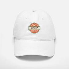 petroleum engineer vintage logo Baseball Baseball Cap