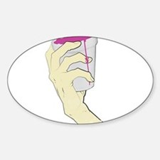Drank hand Cup Decal