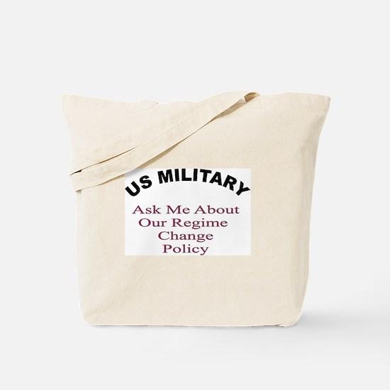 Military theme Tote Bag