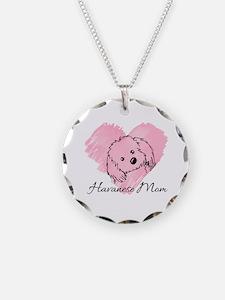 KiniArt Havanese Mom Necklace