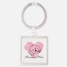 KiniArt Havanese Mom Square Keychain