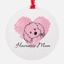 KiniArt Havanese Mom Ornament