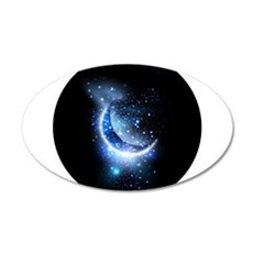Awesome moon and stars Wall Sticker