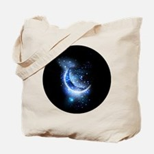 Awesome moon and stars Tote Bag