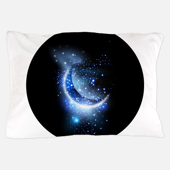 Awesome moon and stars Pillow Case