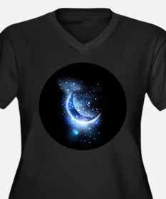 Awesome moon and stars Plus Size T-Shirt