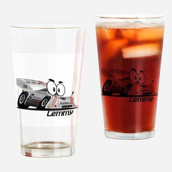 Lemmy Race Pals Can Am Drinking Glass