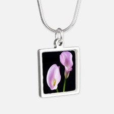Classic Pink Calla Lilies Necklaces