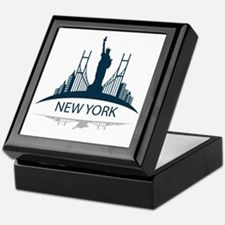 Unique Brooklyn nyc Keepsake Box