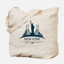 Unique Twin towers Tote Bag