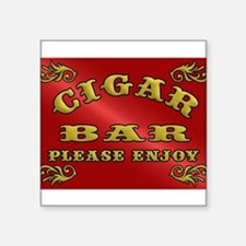 Vintage CIGAR BAR style sign Sticker