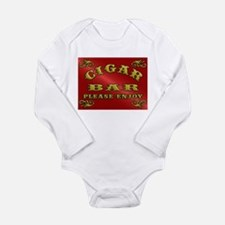 Vintage CIGAR BAR style sign Body Suit