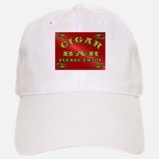 Vintage CIGAR BAR style sign Baseball Baseball Cap