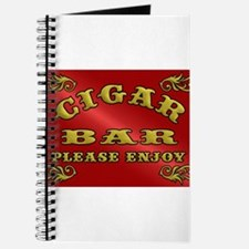Vintage CIGAR BAR style sign Journal