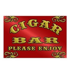 Vintage CIGAR BAR style s Postcards (Package of 8)