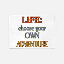 Choose Adventure 5'x7'Area Rug