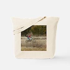 Dirt Bike Riding Tote Bag
