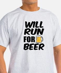 Will Run for Beer funny T-Shirt
