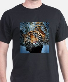 Tiger in Water T-Shirt