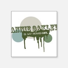 "Cute Oakley Square Sticker 3"" x 3"""