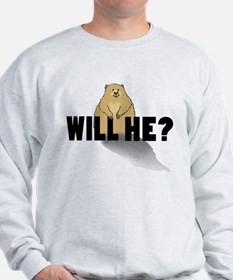 Will He? F-B Sweatshirt