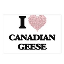 I love Canadian Geese (He Postcards (Package of 8)