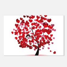 Love tree Postcards (Package of 8)