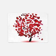 Love tree 5'x7'Area Rug