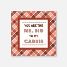 MR. BIG to CARRIE Sticker