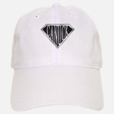 SuperCanuck(metal) Baseball Baseball Cap