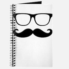 Glasses Mustache Journal
