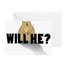 Will He? Greeting Cards