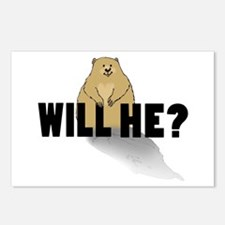 Will He? Postcards (package Of 8)