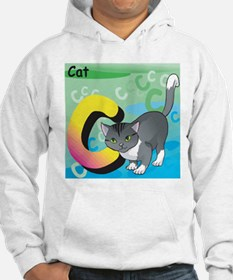 C for Cat Hoodie