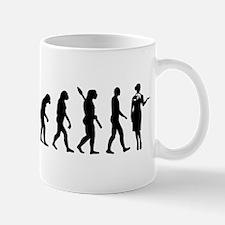 Evolution Stewardess Mug