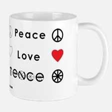 Peace Love Coexist Mug