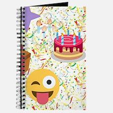happy birthday emoji Journal