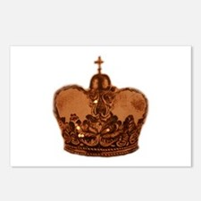 Funny Royal jewels Postcards (Package of 8)