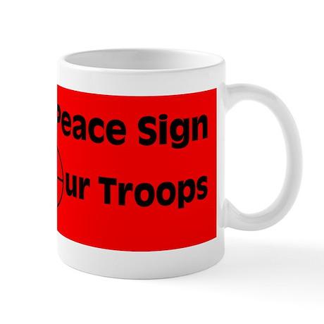 MY Peace Sign..... Mug