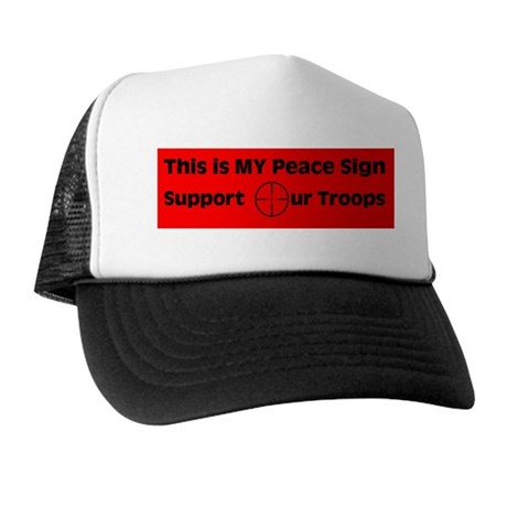 MY Peace Sign..... Trucker Hat