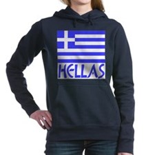 Cute Hellas Women's Hooded Sweatshirt