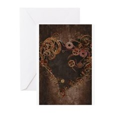 Cute Steampunk Greeting Cards (Pk of 20)