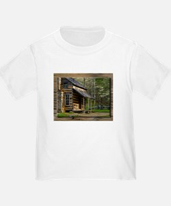 Cabin on Wood T-Shirt