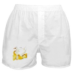 Duck and Ducklings Boxer Shorts