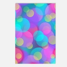 Funny Pink green Postcards (Package of 8)