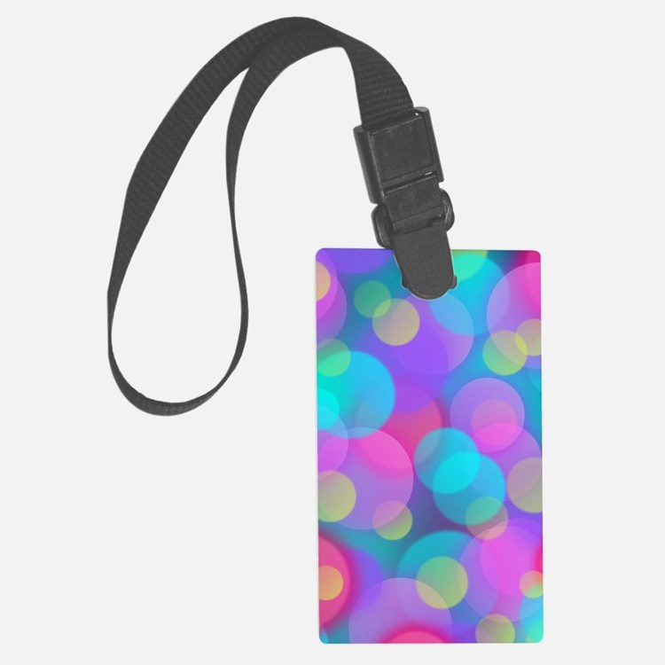 Cute Warriors in pink Luggage Tag