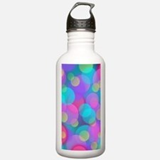 Cute Pink green Water Bottle