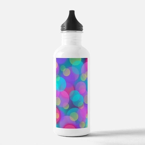 Cute Polka Water Bottle