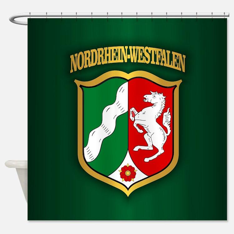Nordrhein Westfalen Shower Curtain