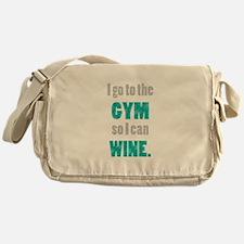 Cute Gym Messenger Bag